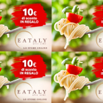 10,00€ DI SCONTO SU EATALY.IT CON VODAFONE